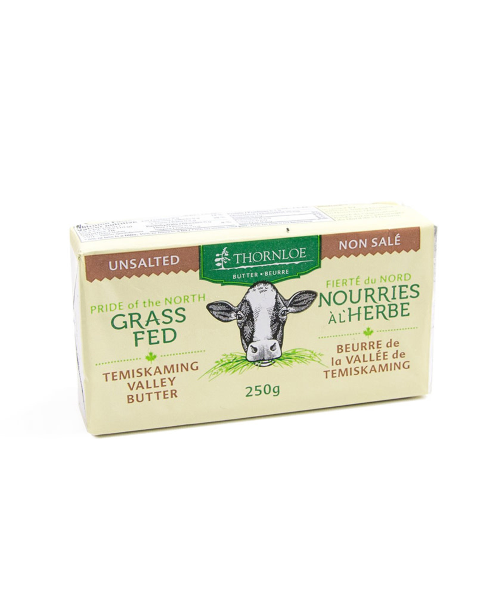 Thornloe Thornloe - Grass Fed Butter, Unsalted