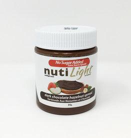 Nutlight Nutilight - Hazelnut Spread, Dark Chocolate (312g)