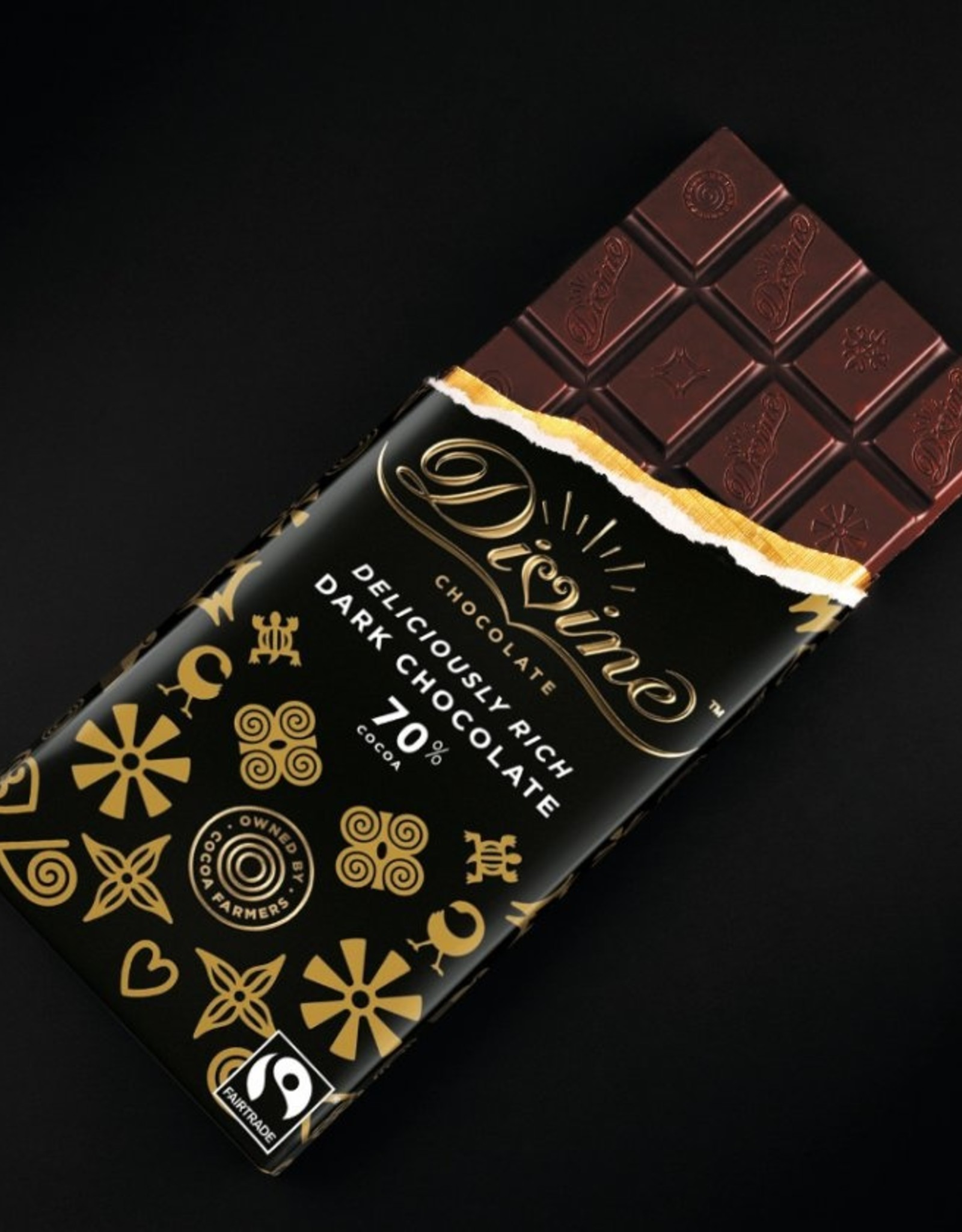 Divine - Dark Chocolate Bar 70% (85g)