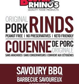 Buster Rhinos Buster Rhinos - Pork Rinds, Savoury BBQ (40g)