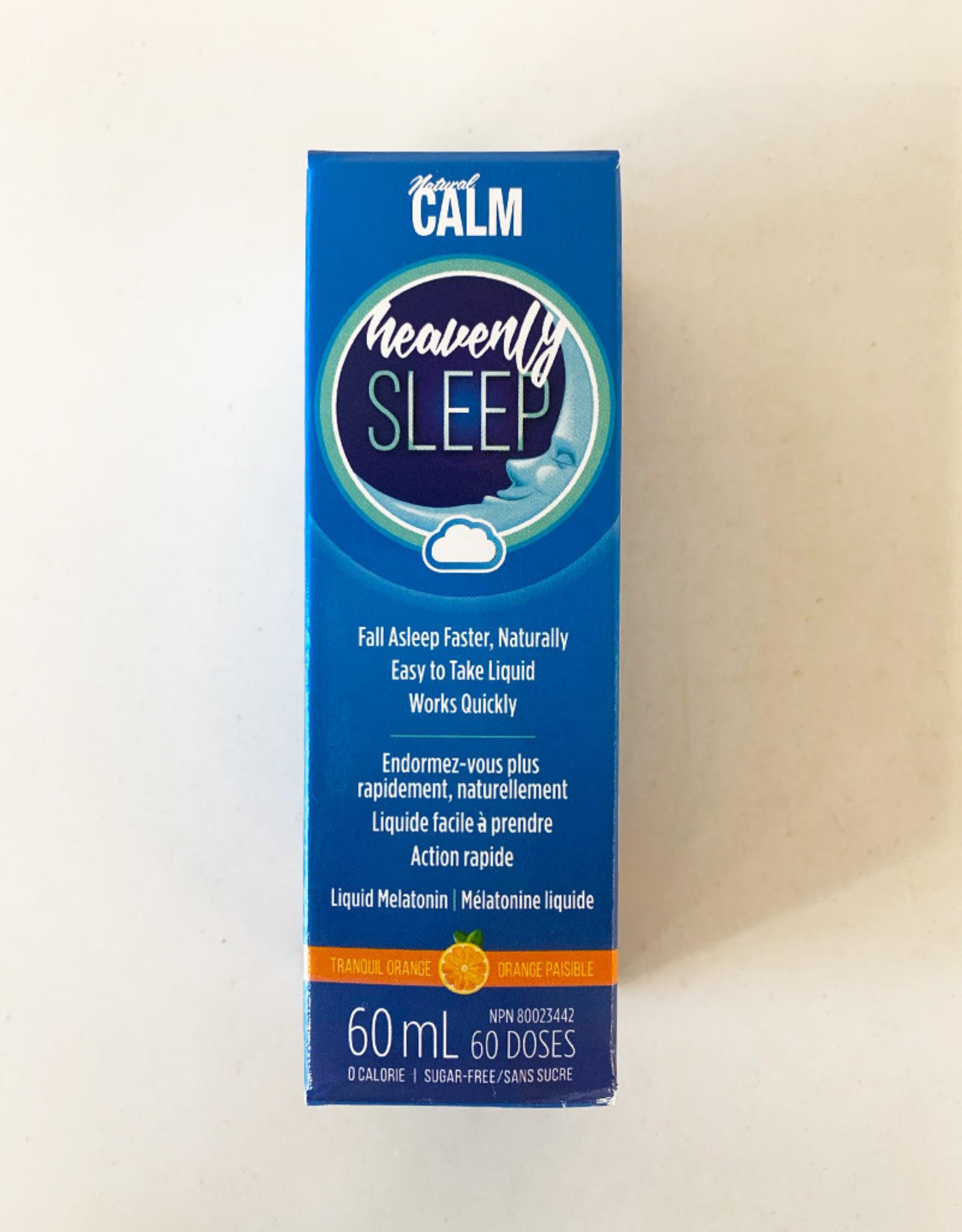 Naturally Calm Natural Calm - Heavenly Sleep Liquid Melatonin (60ml)