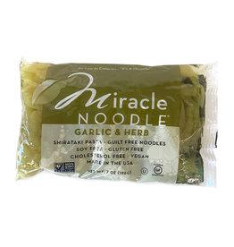 Miracle Noodle Kitchen Miracle Noodle - Shirataki Noodle, Garlic & Herb Fettuccine