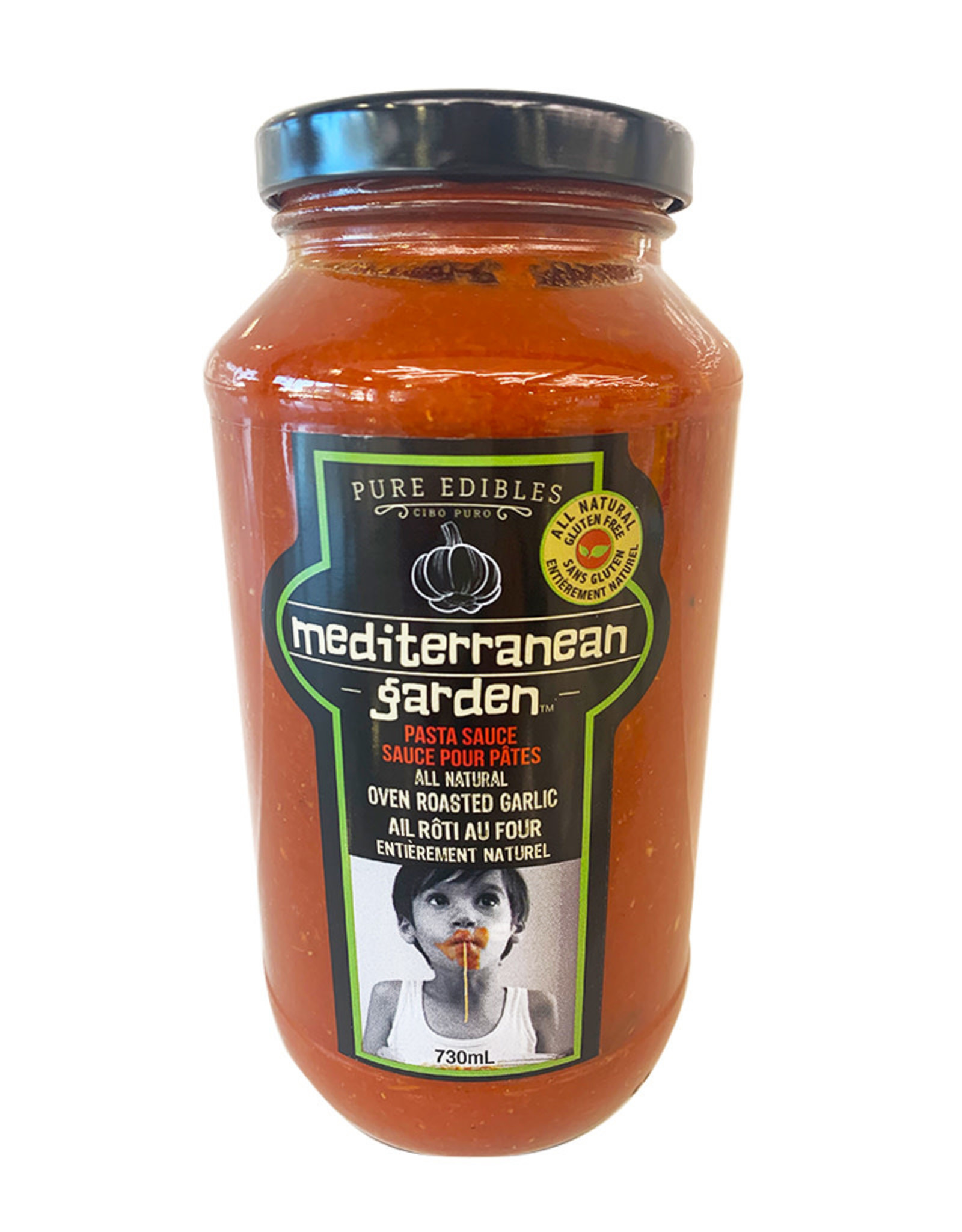 Mediterranean Garden Mediterranean Garden - Pasta Sauce, Roasted Garlic (730ml)