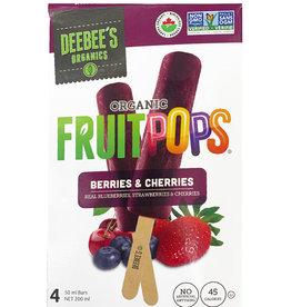Deebee's Deebees  - Fruit Pop - Berries & Cherries  (4x50ml)