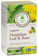 Traditional Medicinals Traditional Medicinals - Fair Trade Herbal Tea, Dandelion Leaf & Root