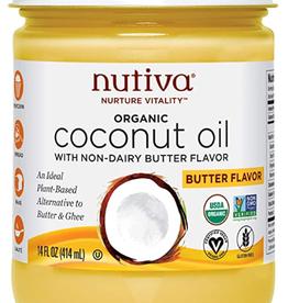 Nutiva Nutiva - Coconut Oil, Buttery Refined (414ml)