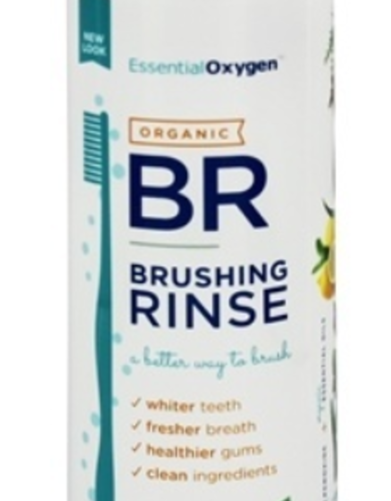 Essential Oxygen Essential Oxygen - Organic Brushing Rinse, Peppermint