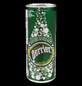 Perrier Perrier - Natural Sparkling Water, Slim Tin (250ml)