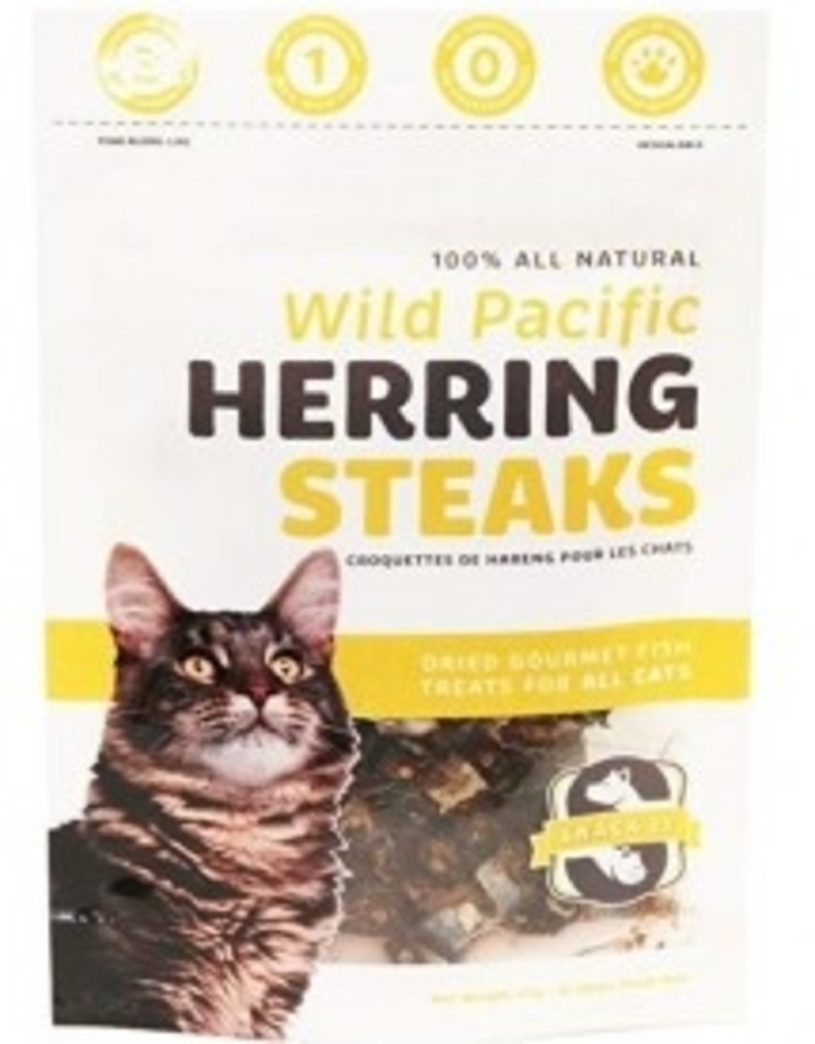 Pacific 21 Pacific 21 - Snacks for Cats, Herring Steaks (25g)