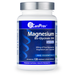 Can Prev Can Prev - Magnesium Bis-glycinate 200mg (120 Caps)