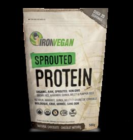 Iron Vegan Iron Vegan - Sprouted Protein Powder, Chocolate (1kg)