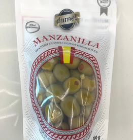 Dumet Dumet - Manzanilla Green Olives with Pimento (200g)