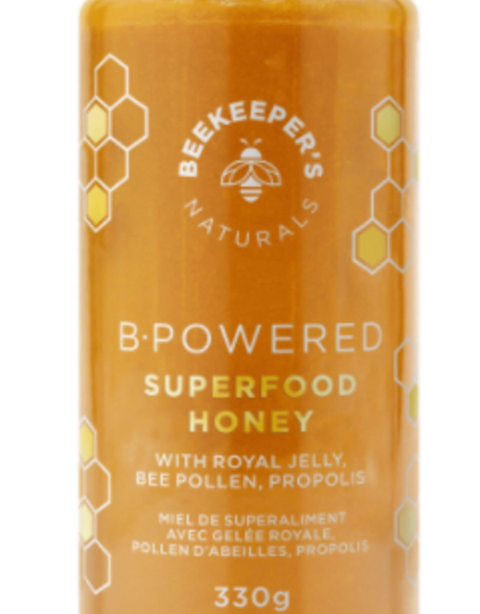 Beekeepers - Superfood Honey, B-Powered (330g)