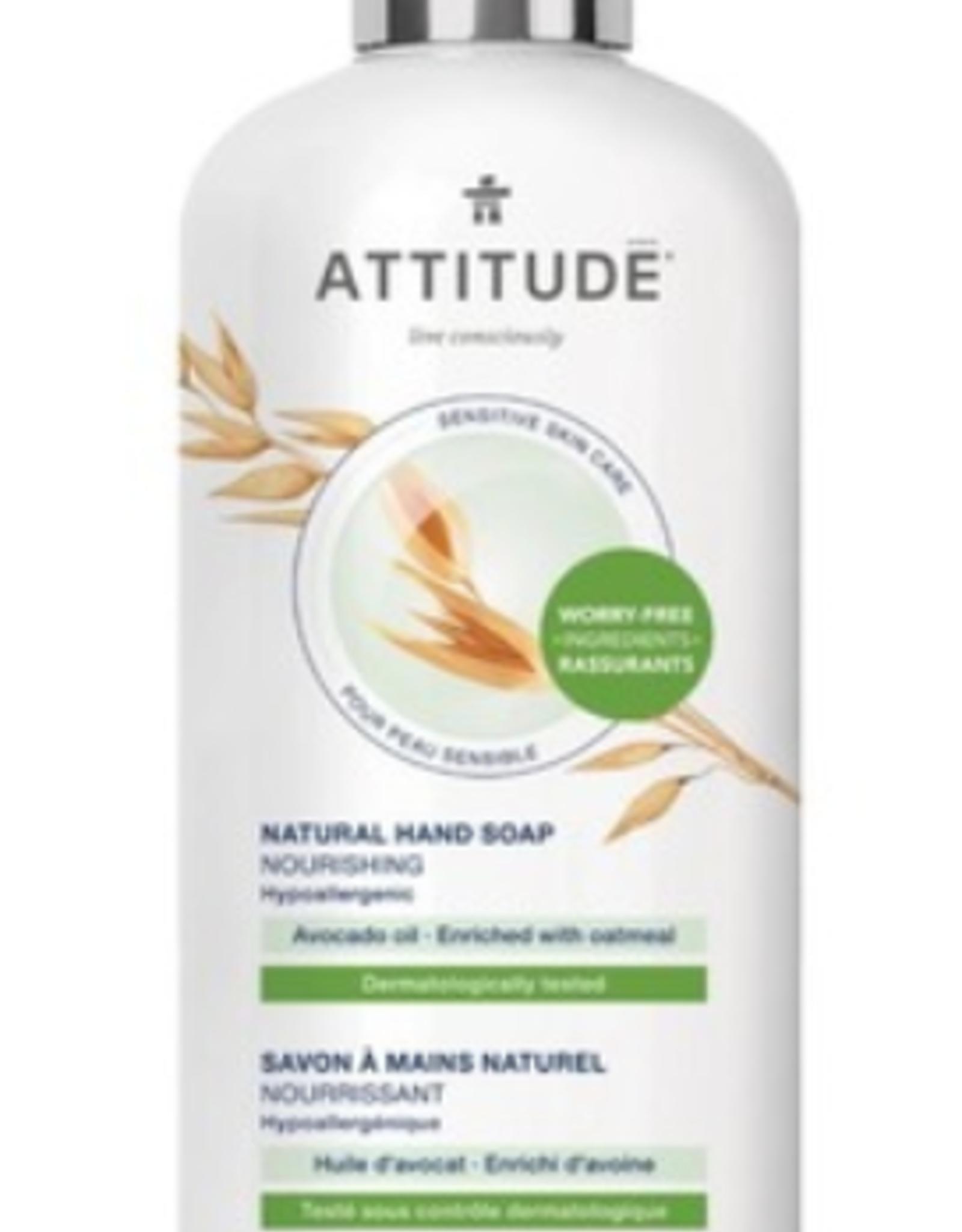 Attitude Hand Soap. Avocado (473ml)