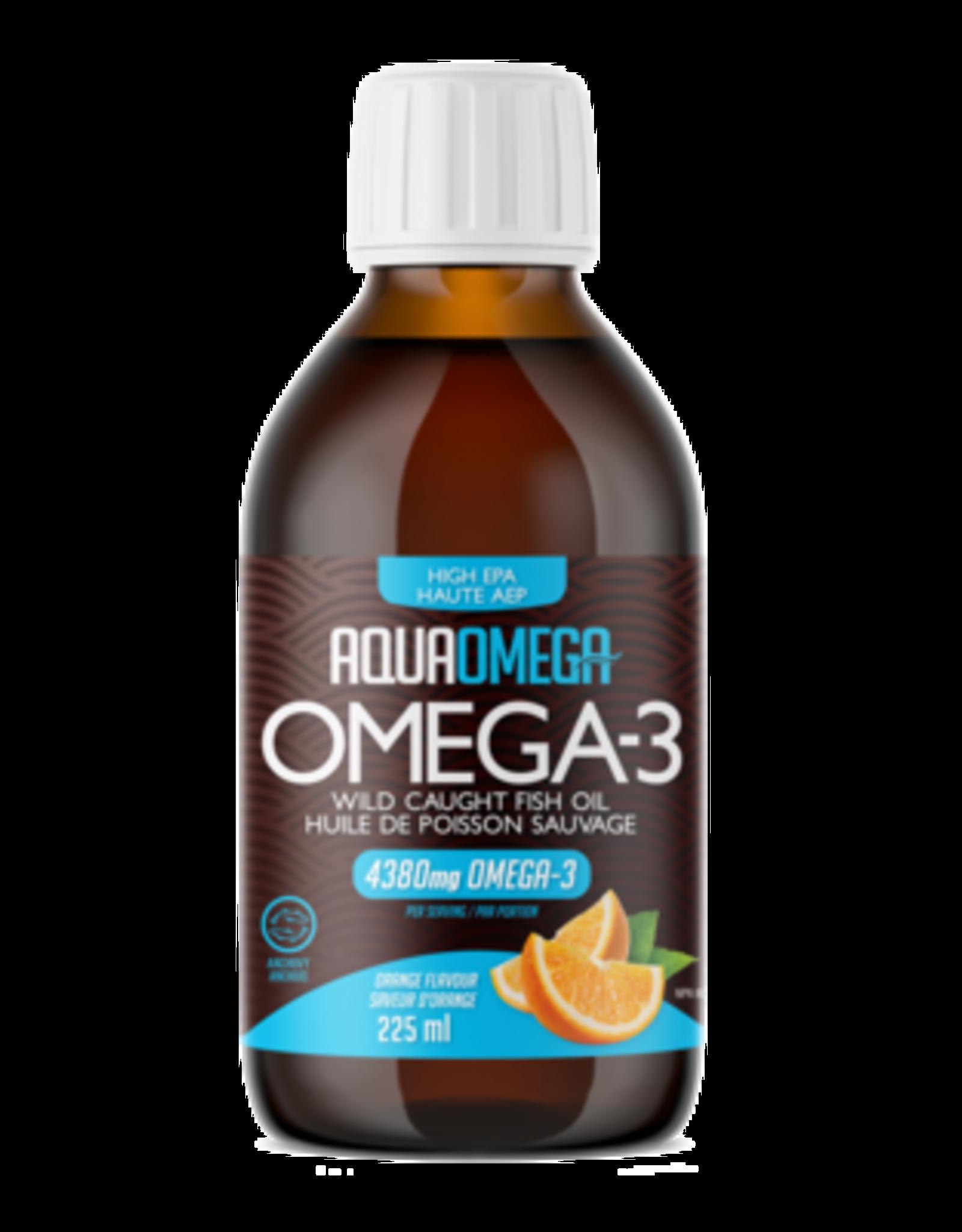 Aqua Omega Orange High EPA (225ml)