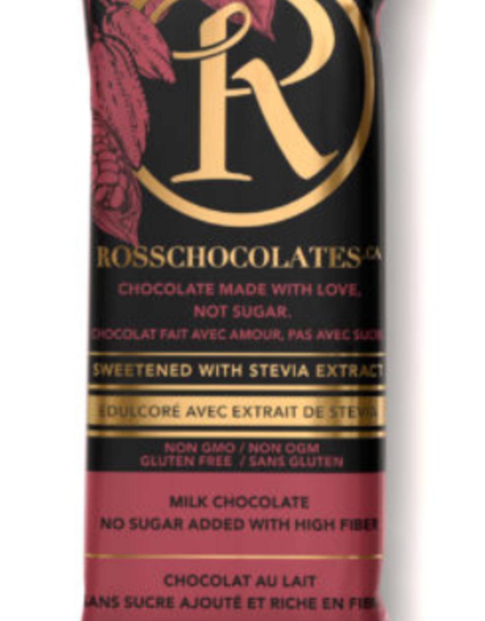 Ross - Stevia Milk Chocolate (34g)
