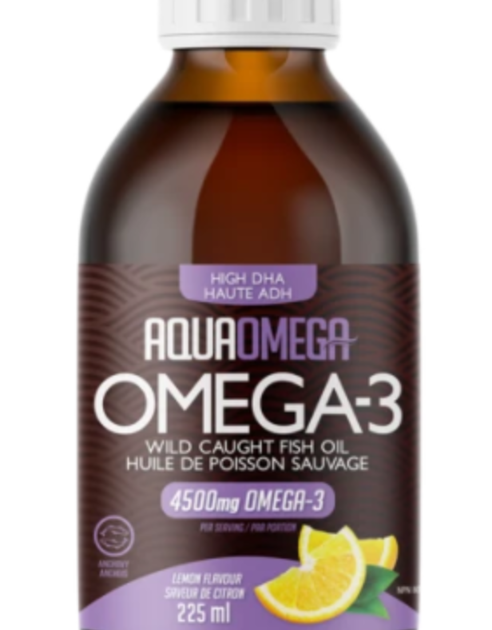 Aqua Omega 1:5 High DHA Lemon (225ml)