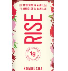 Rise - Kombucha 1G, Raspberry & Vanilla (414ml)