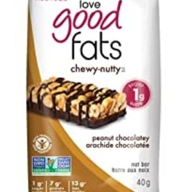 Love Good Fats Love Good Fats - Chewy Nutty Peanut chocolatey