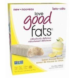 Love Good Fats Love Good Fats - Lemon Mousse - CASE