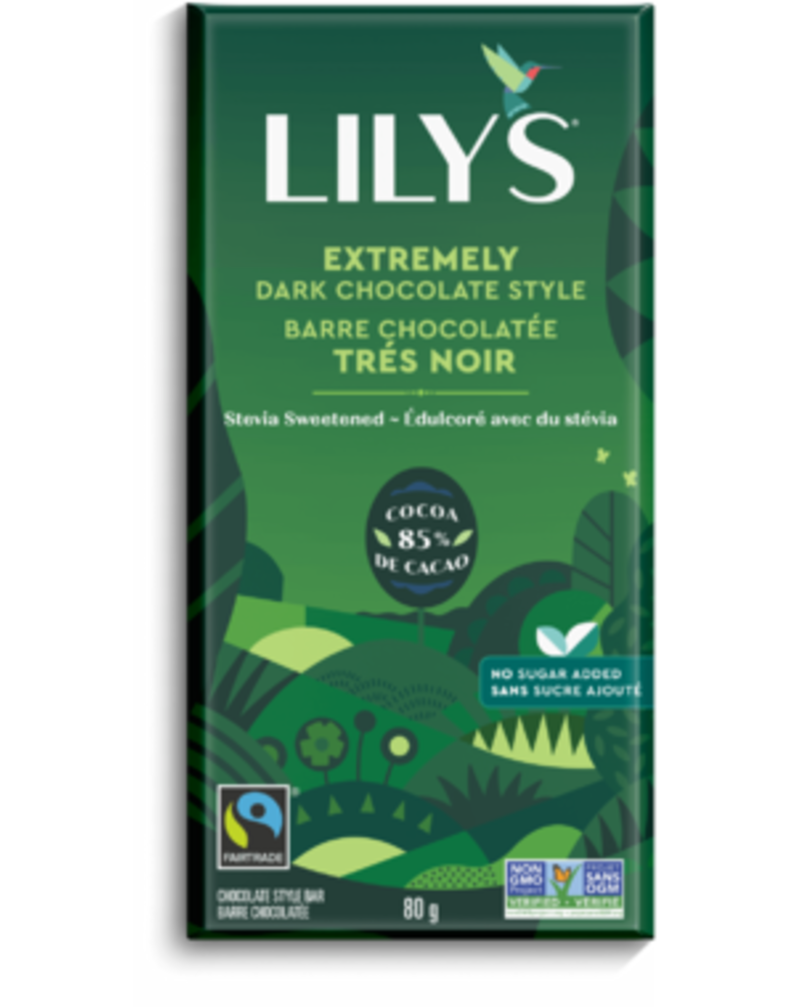 Lily's Sweets, 85% Extremely Dark Chocolate