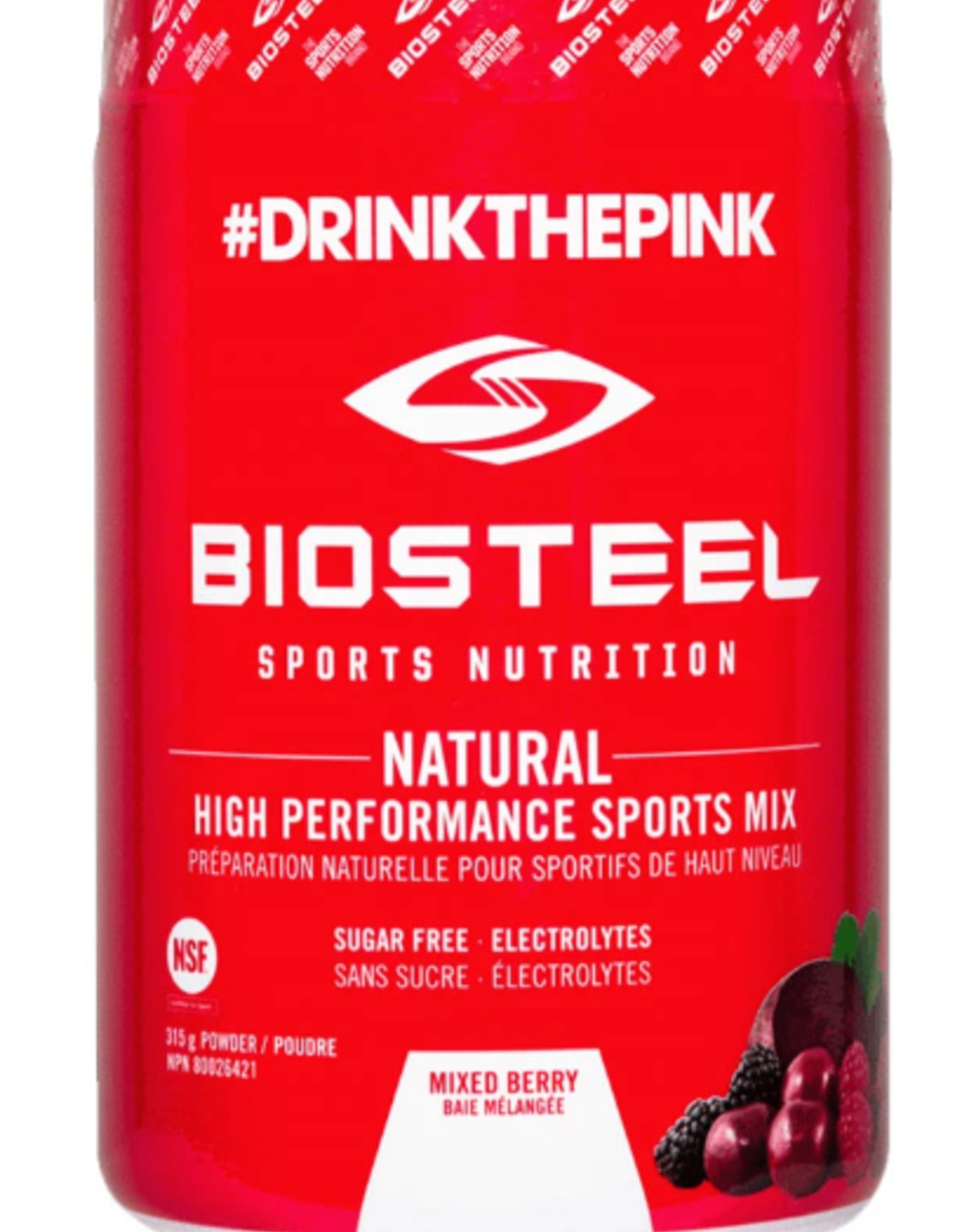 Biosteel Electrolytes, Mixed Berry (315g)