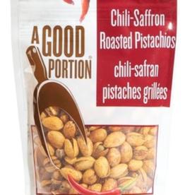 A Good Portion A Good Portion - Flavoured Pistachios, Chili-Saffron (80g)