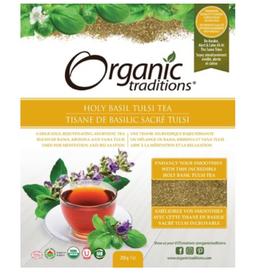 Organic Traditions Organic Traditions - Tea, Holy Basil Tulsi (200g)