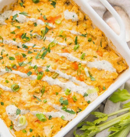 Alter Eato - Buffalo Chicken Ranch Casserole