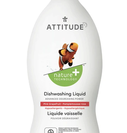 Attitude Attitude - Dishwash Liquid, Pink Grapefruit (700ml)