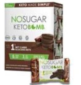 Vegan Pure Vegan Pure - Keto Bomb, Chocolate Fudge Brownie (17g)