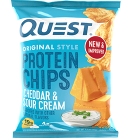 Quest Nutrition Quest - Tortilla Chips, Cheddar & Sour Cream (32g)