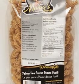 Maria's Noodles Marias Noodles - Yellow Pea Sweet Potato Fusili (454g)