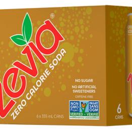 Zevia - Soda, Cream Soda (6pk)