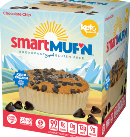 Smart Baking Co - Smart Muffin, Chocolate Chip (3pc)