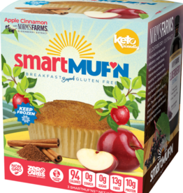 Smart Baking Co - Smart Muffin, Apple Cinnamon (3pc)