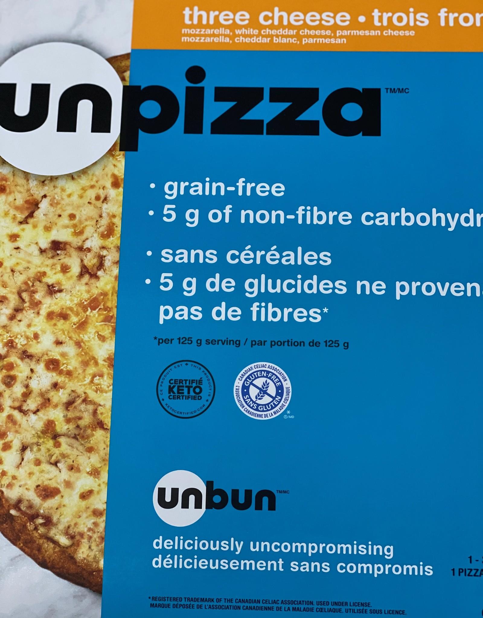 Unbun Unbun - Keto Pizza, Three Cheese (373g)