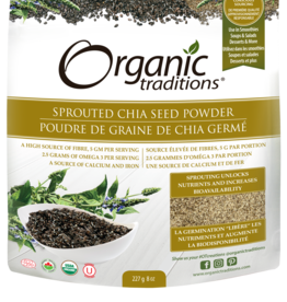Organic Traditions Organic Traditions - Sprouted Chia Seed Powder  (227g)