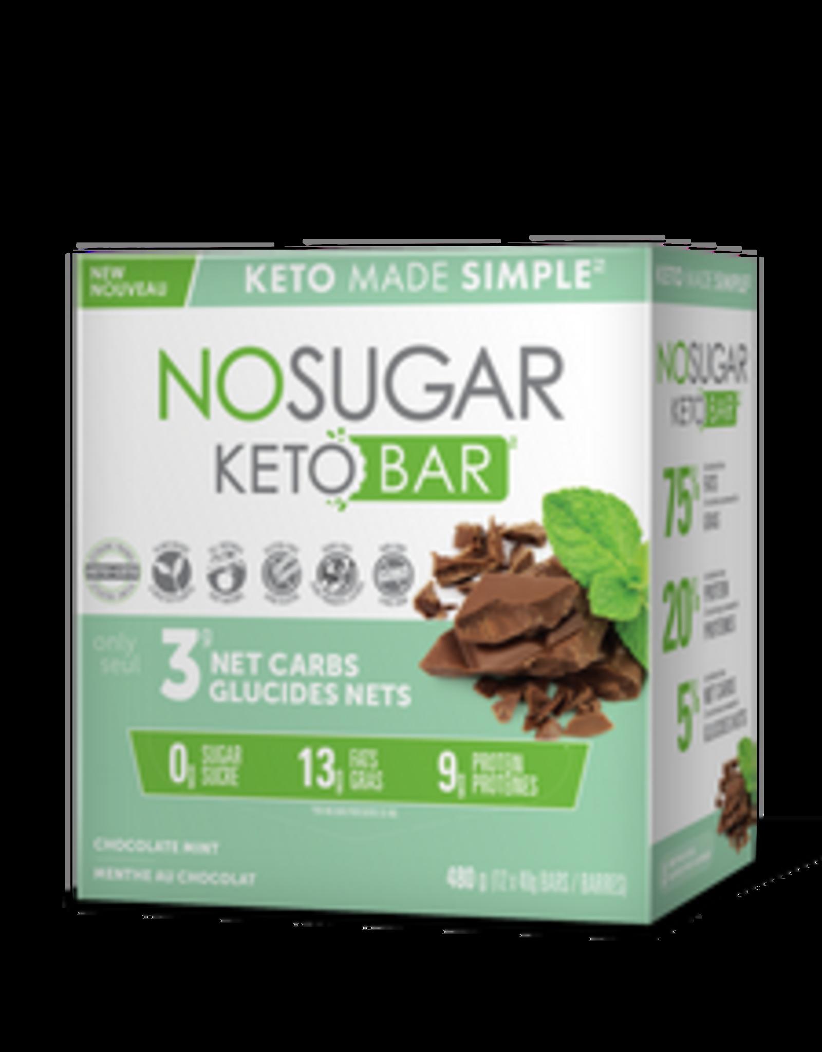 Vegan Pure Vegan Pure - Keto Bar, Chocolate Mint  - Single