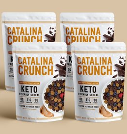 Catalina Crunch Catalina Crunch - Cereal, Chocolate Peanut Butter  (255g)