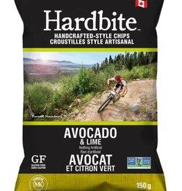 Hardbite Hardbite - Chips,  Avocado and Lime (128g)