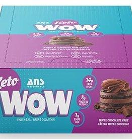 ANS - Keto Bar, Triple Chocolate (box of 12)