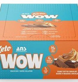ANS - Keto Bar, Peanut Butter Chocolate (box of 12)