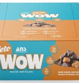 ANS - Keto Bar, Salted Caramel Chocolate (box of 12)