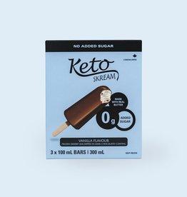 Keto Skream Keto Skream - Ice Cream Bar, Vanilla  (300ml)