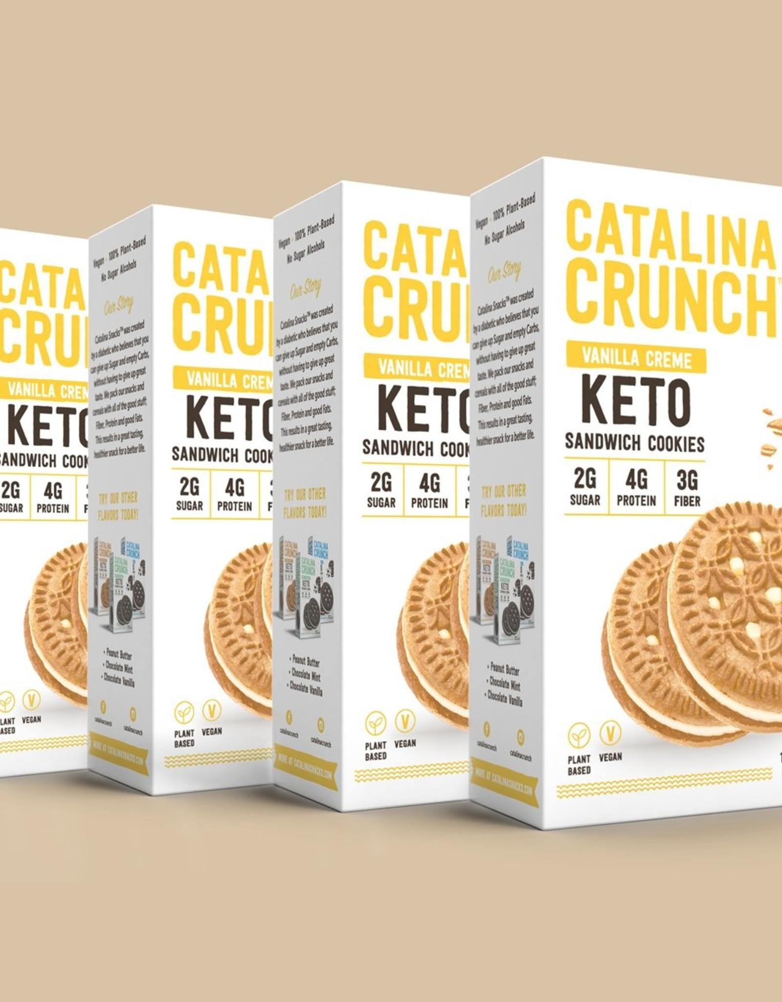 Catalina Crunch Catalina Crunch - Sandwich Cookies,  Vanilla Creme (193g)