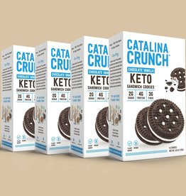 Catalina Crunch Catalina Crunch - Sandwich Cookies,  Chocolate Vanilla (193g)