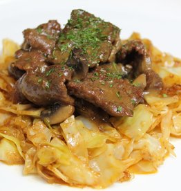 Craving Some Keto - Creamy Beef with Southern Fried Cabbage