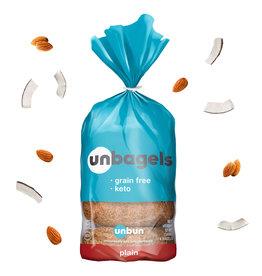 Unbun Unbun - Keto Bagels, Plain (350g)