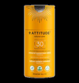 Attitude Attitude - Sunscreen Stick, Tropical (85g)